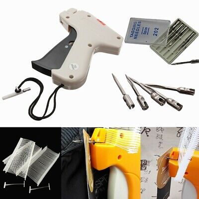 Clothes Garment Price Label Tagging Tag Gun Machine With 1000 Barbs And 5 Steel