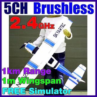 5CH Cessna 182 Li-Po Brushless RTF RC Electric Plane Airplane