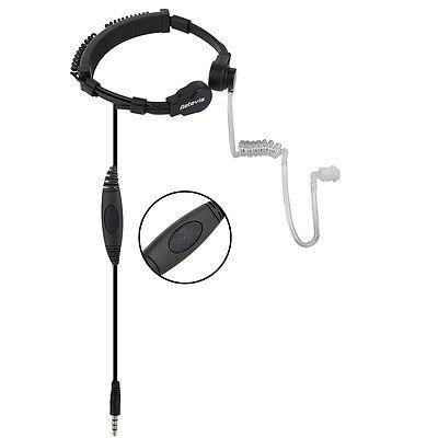 Retevis 3 5Mm Mobile Phone Ptt Throat Mic Earpiece Slow Rebound Earbud Us Track