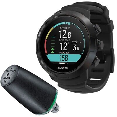 Suunto D5 Wrist Computer with USB and Transmitter