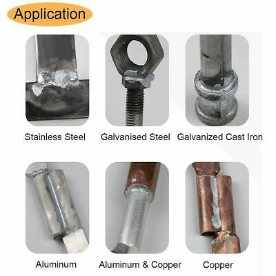 20x 1.6500mm Aluminum Welding Rods Universal Low Temperature Welding Cored Wire