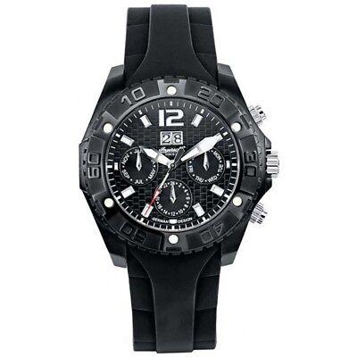 Ingersoll Armbanduhr Automatik Tag, Datum, Monat schwarz IN 1210 BBK (Herren Armbanduhr Tag-datum-monat)