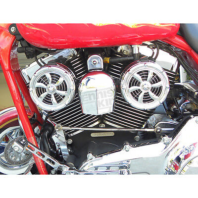 Twin Cooling System - Love Jugs Polished Stainless Original Bullets V-Twin Cooling System - BD-320