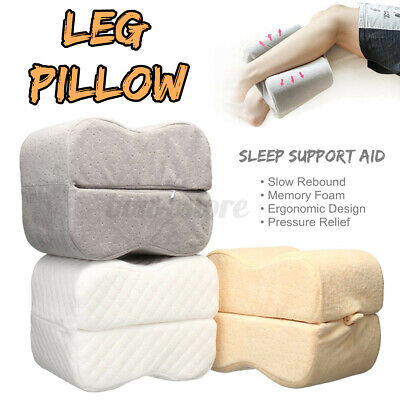 Knee Leg Pillow Sleep Cushion Support Between Side Sleeper Rest Pressure  US! Bed Pillows