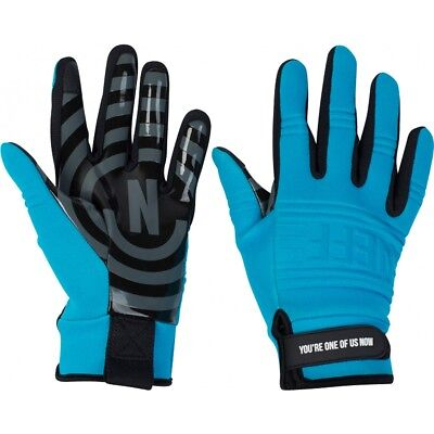 NEFF DAILY PIPE GLOVES SNOWBOARD GLOVES WATERPROOF TURQUOISE BLUE NEW MEN MEDIUM - Mens Pipe Glove
