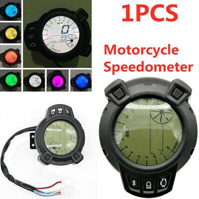 LCD Digital Speedometer Tachometer Odometer Gauge 12V 7 Color for Land Rover BWS