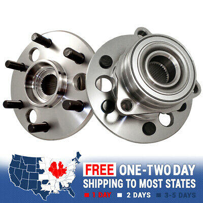 2 Front Wheel And Hub Bearing Assembly For Blazer Suburban Tahoe Yukon 4X4 -