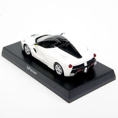 1/64 Scale KYOSHO White LaFerrari Diecast Model Car Collection Vehicles Toys