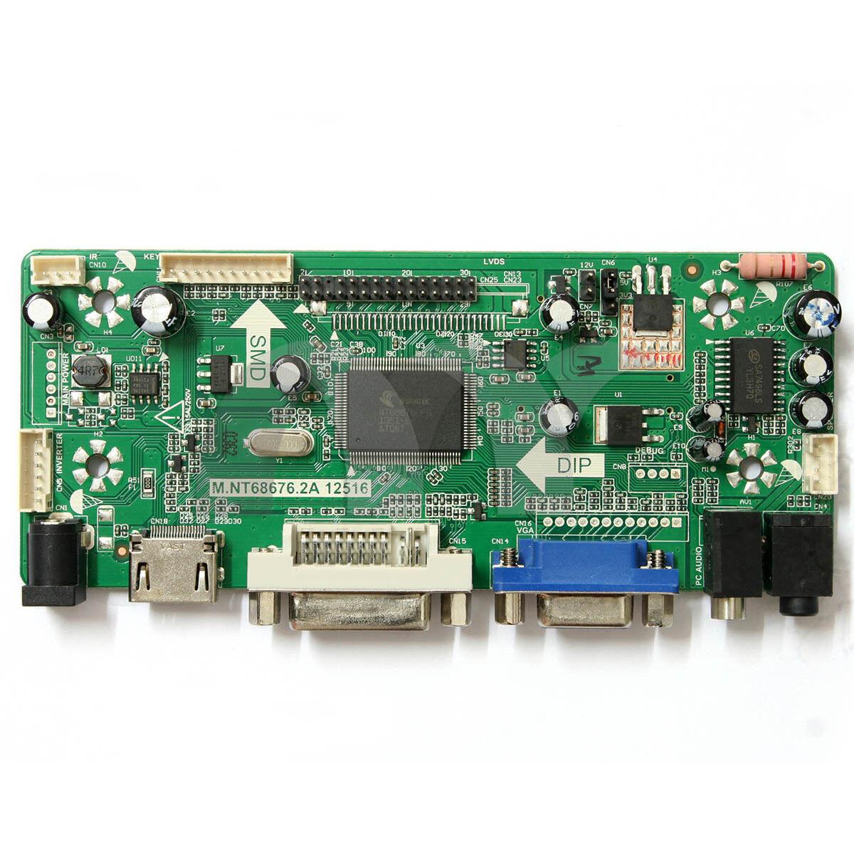 M NT68676 2 LCD/LED Controller Board HDMI DVI VGA Audio For