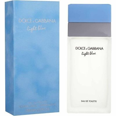 DOLCE & GABBANA LIGHT BLUE PERFUME 3.3 EDT D&G WOMEN AUTHENTIC NEW RETAIL BOX