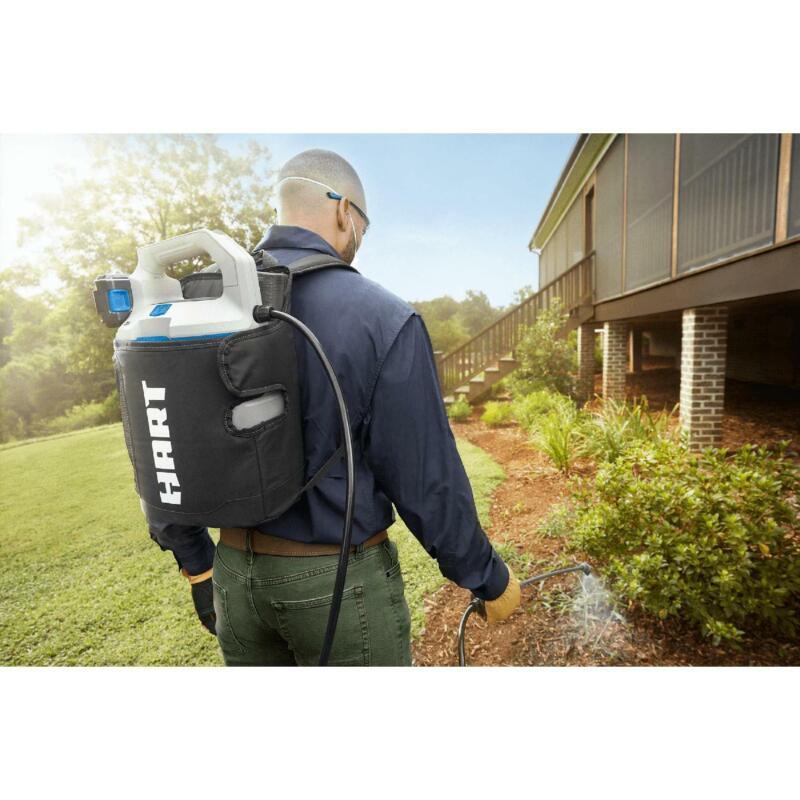 Battery Power Sprayer Backpack 4 Gallon 20V Rechargeable Garden Spray Pest Bug