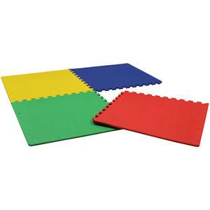 Charles Bentley Soft Foam 16 Sq Ft nterlocking Activity Play Mats Jigsaw Puzzle