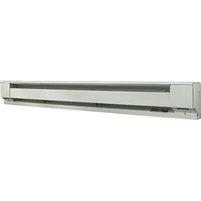 फारेनहाइट 72 इं। 1500-वाट 120-वोल्ट इलेक्ट्रिक बेसबोर्ड हीटर, उत्तरी सफेद