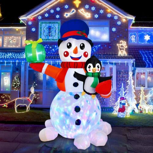 #10 Giant inflatable Snowman Outdoor Christmas Ornaments