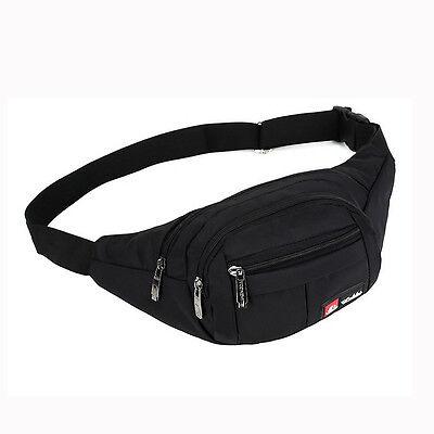 Utility Cycling Waist Fanny Pack Belt Travel Hip Purse Mens Sports Bag hiking %#
