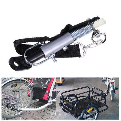 Bike Trailer Coupler Hitch Steel Drawbar  Most Bikes Rear Axle Easy To Install