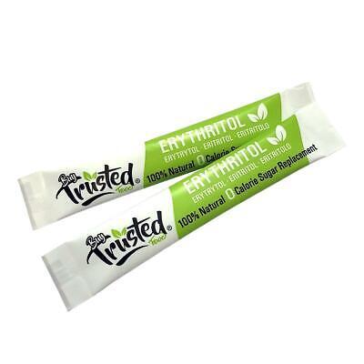 Erythritol Sticks 4g x 50 - ZERO Calorie 100% Natural Sugar Replacement