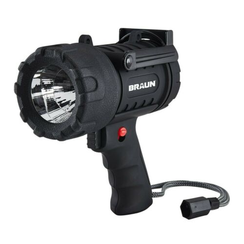 Lithium Ion Waterproof Rechargeable LED Flashlight Spotlight