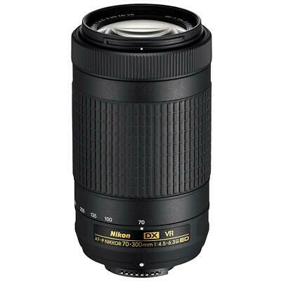 Nikon AF-P DX NIKKOR 70-300mm f/4.5-6.3G ED VR Lens - Refurbished by Nikon