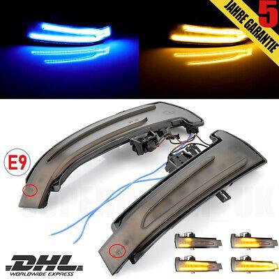 Dynamische LED Spiegelblinker Laufblinker Aussenspiegel für Mercedes W212 W176