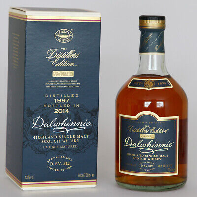 Dalwhinnie 17 Jahre Distillers Edition 1997/2014 D. SV. 312 Single Malt Whisky