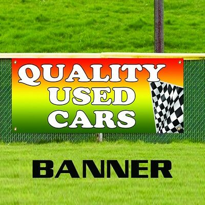 Quality Used Cars Flag Auto Dealer Advertising Pennant Vinyl Banner Sign