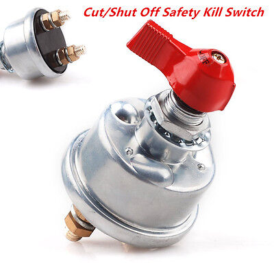 Car HD 2Post Racing Master Battery Quick Disconnect Cut/Shut Off Safety Switch