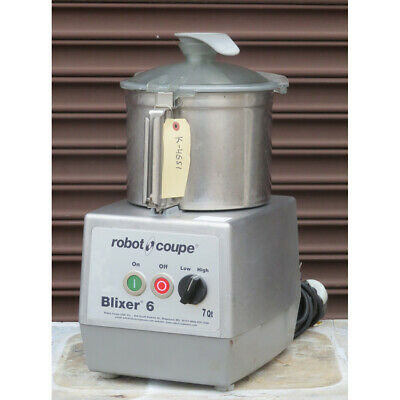 Robot Coupe Blixer-6 Food Processor Used Great Condition