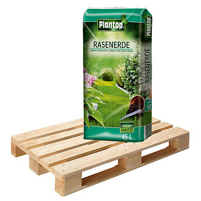 Rasenerde Plantop 20 Sack á 45 L = 900 Liter Qualitäts-Rasensubstrat Erde Rasen