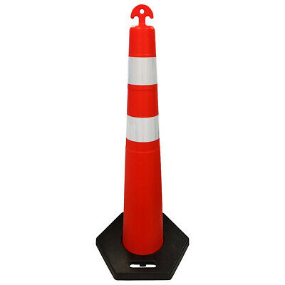 Channelizer Traffic Cones - T-top Handle Grip - 44 Height - Orange