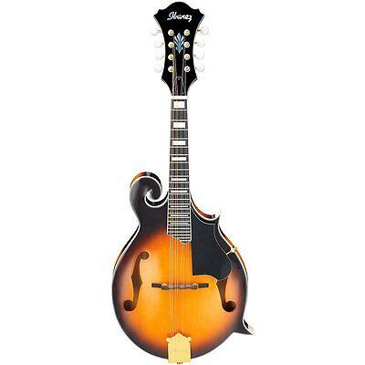 Ibanez M522SBS F-Style Mandolin, Brown Sunburst High Gloss for sale  New Berlin