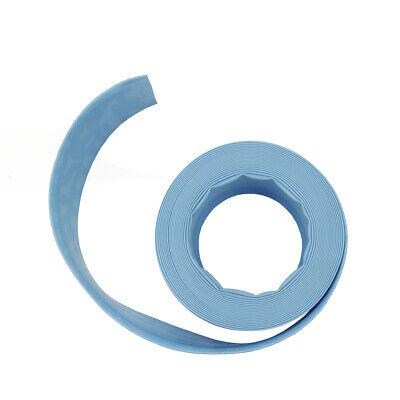 Light Blue Swimming Pool Filter Backwash Hose - 50FT x 1.5