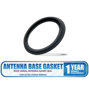 Vauxhall Opel Astra Corsa (SMALL BASES) Roof Aerial Antenna Rubber Gasket Seal