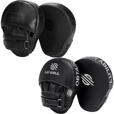 Sanabul Essential Curved Boxing and MMA Punch Mitts