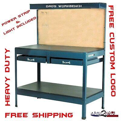 (Workbench Work Garage Table Storage  Hobby Steel fits husky dewalt edsal drawer)