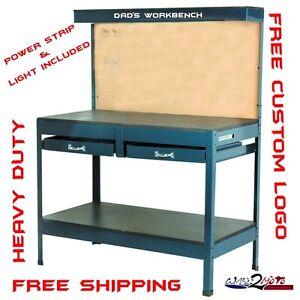 Garage Home Workbench Work Shop Table Steel Fits Craftsman ...