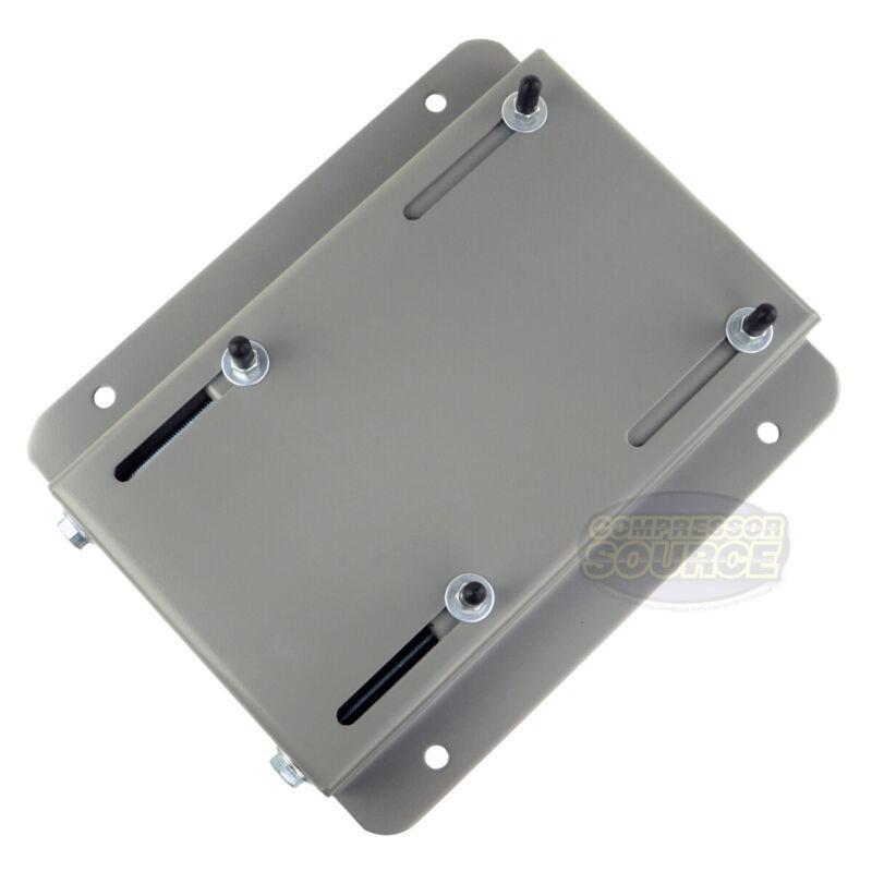 215T Frame Electric Motor Base Mount Adjustable Slide Plate Universal Mounting