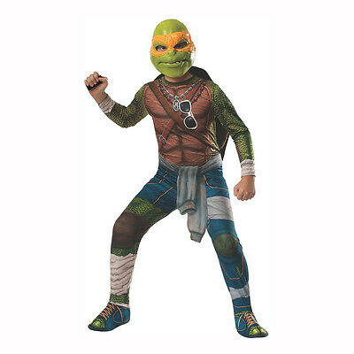 Teenage Mutant Ninja Turtles 2014 Movie Michelangelo Child Costume Rubies 888970