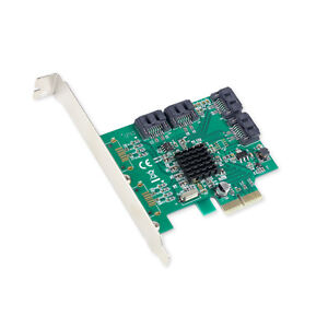 PCI Express x2 longer slot SATA III 4-port PCI-e Version 2 V2.0 Controller Card