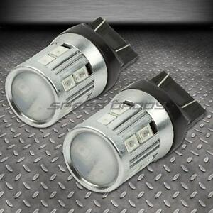 PAIR 7440 16SMD RED LED PROJECTOR REFLECTOR LENS CREE HIGH BRIGHTNESS BULBS/LAMP