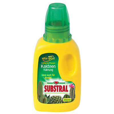 Substral kakteen-nahrung - 250 ml - Fertilizzante Bonsai CACTUS TRACCIA LIQUIDO