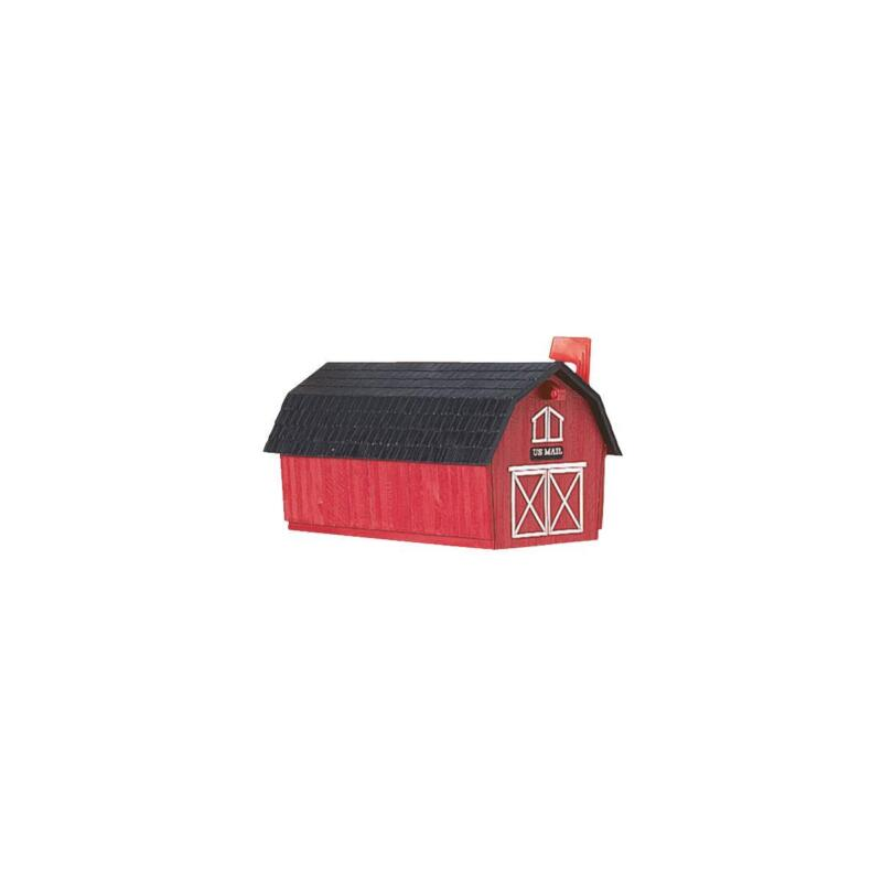 "Flambeau T3 Barn Post Mount Mailbox ( 21-1/2"" L. x 11-1/2"" W. x 12-1/2"" H )"