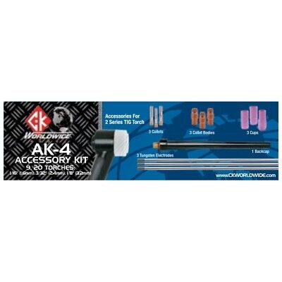 Ck Worldwide 2 Series Tig Torch Accessory Kit Ak-4