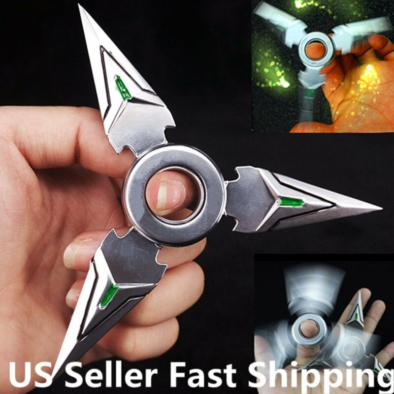 Hand Spinner EDC Metal Bearing Tri Fidget Finger Toy Focus ADHD Autism 2017  US
