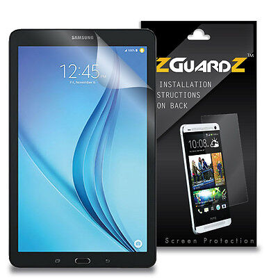 3 New Screen Protector (3X EZguardz NEW Screen Protector 3X For Samsung Galaxy Tab E 8.0 SM-T377A )