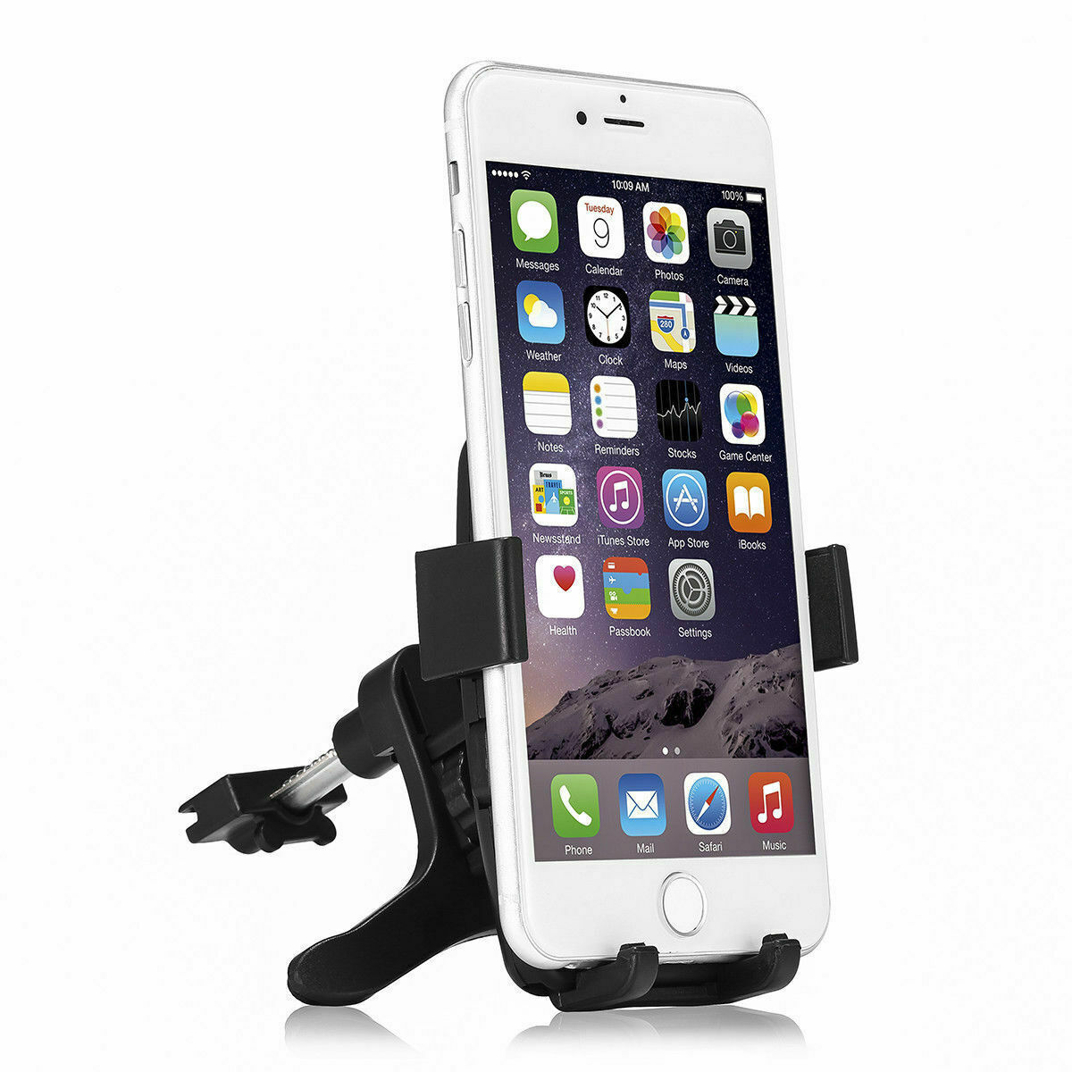 360° Car Mount Holder Stand Air Vent Cradle For iPhone Mobile Cell Phone GPS Cell Phone Accessories