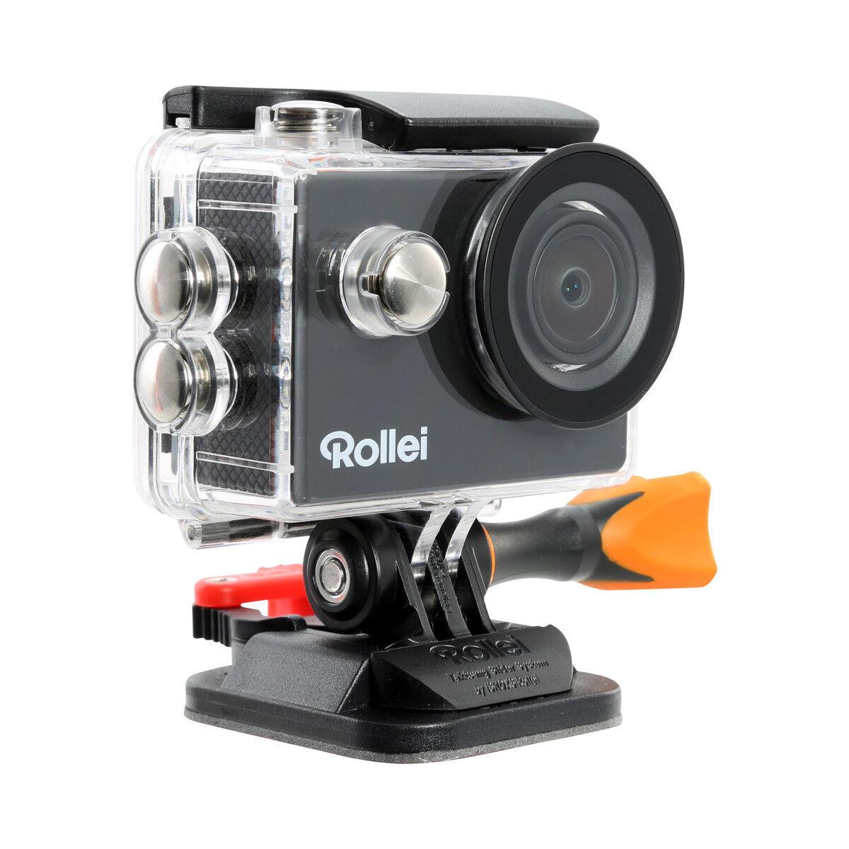 Rollei Actioncam 415   Unterwasserkamera   Sport   Outdoor   Helm   WiFi