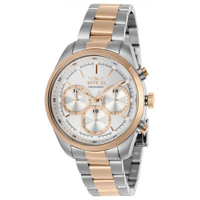 Invicta Women's Watch Specialty Chrono Silver Tone Dial Two Tone Bracelet 29266