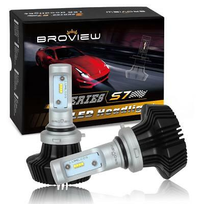 8000LM 9006 HB4 Headlamp Low Beam Conversion Kit White LED BroView S Series S7