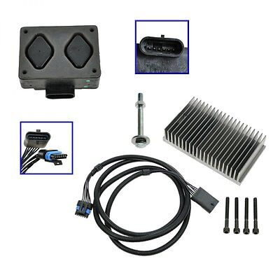 Fuel Pump Driver Module PMD and Relocation Kit Set For Chevy GMC 65L Diesel All